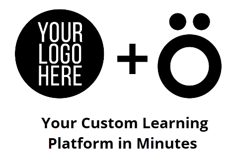 Add logo and your learning plartform is ready